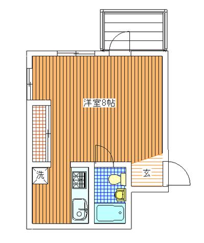 石川台 4分マンション / 401 部屋画像1