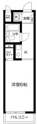 日神パレス白楽 / 4階 部屋画像1