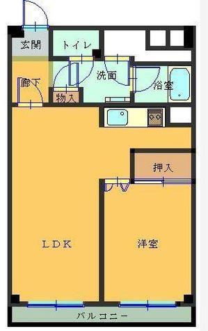 メガロン大井町 / 10階 部屋画像1