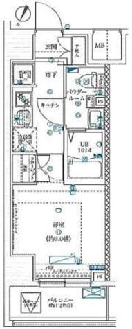 スクエアシティ川崎 / 1階 部屋画像1