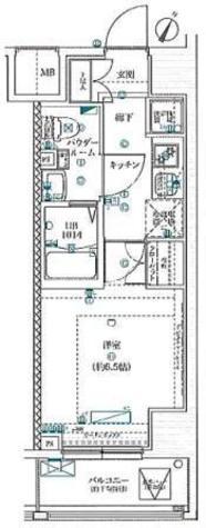 スクエアシティ川崎 / 2階 部屋画像1