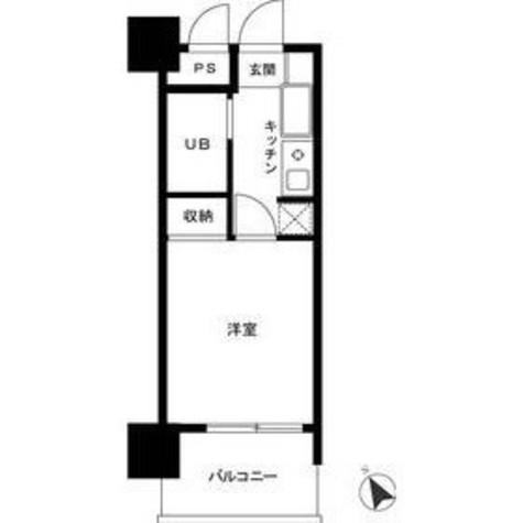 ロイヤルパレス川崎本町 / 10階 部屋画像1
