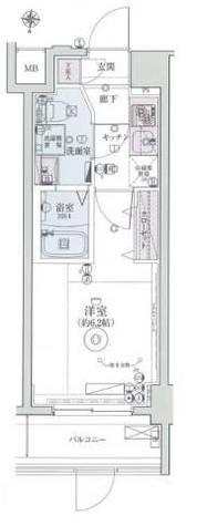 リヴシティ横濱インサイトⅡ / 702 部屋画像1