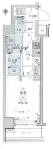 リヴシティ横濱インサイトⅡ / 7階 部屋画像1