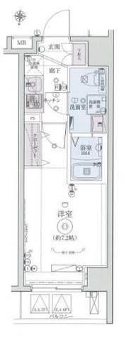 リヴシティ横濱インサイトⅡ / 604 部屋画像1