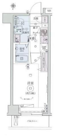 リヴシティ横濱インサイトⅡ / 603 部屋画像1