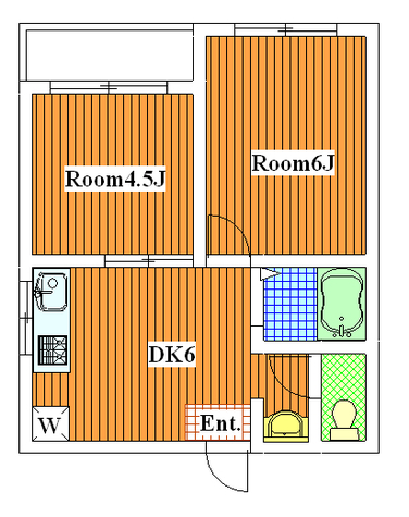 メゾンモリ / 206 部屋画像1