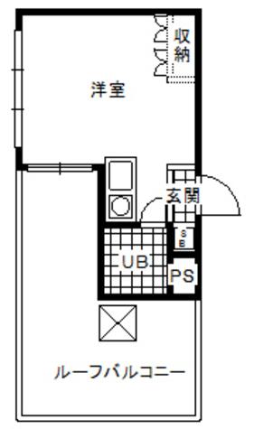 メゾン・ド・マドリエ / 5階 部屋画像1