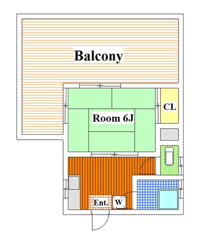 尾山台 15分アパート / 401 部屋画像1