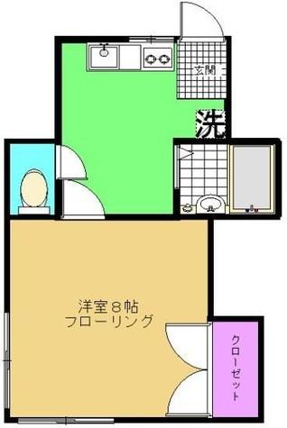 誠美荘 / 202 部屋画像1