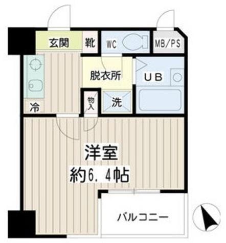 クレール本町 / 2階 部屋画像1