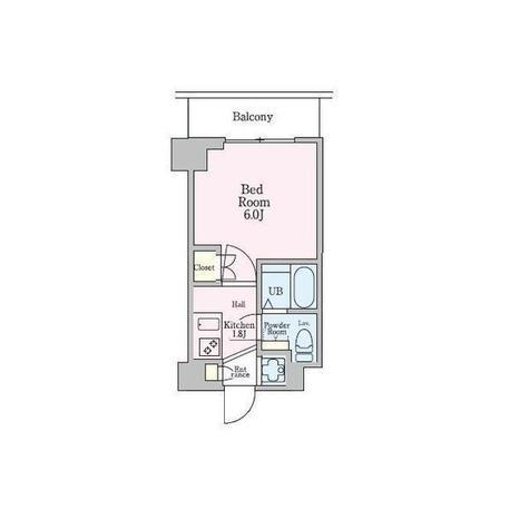 エクセレントプレイス武蔵小杉 / 8階 部屋画像1