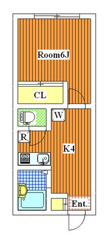 ウインズ三軒茶屋 / 202 部屋画像1