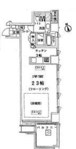 神宮前シティタワー / 7階 部屋画像1