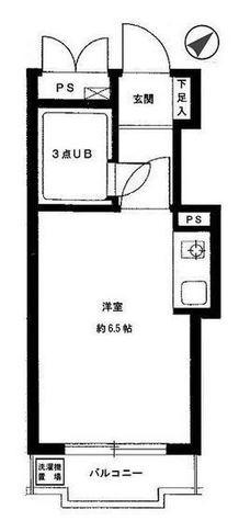 ライベストコート横浜Ⅰ / 3階 部屋画像1