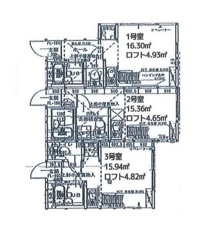 グレースヒルズ横浜西 / 1階 部屋画像1