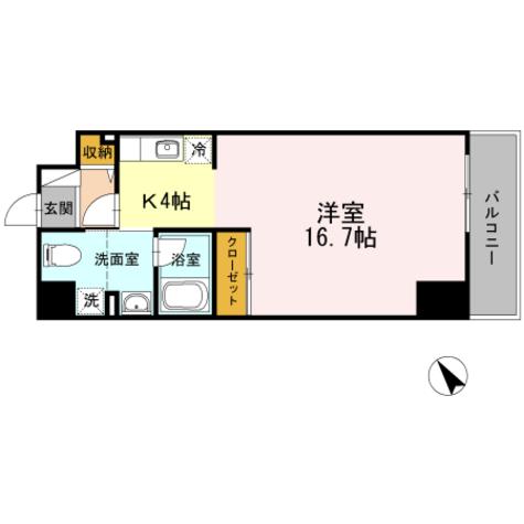 ジェイ・エス・ティ横浜東 / 3階 部屋画像1