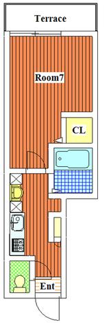 緑が丘 10分マンション / 103 部屋画像1