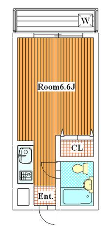 フラッツ松尾 / 105 部屋画像1