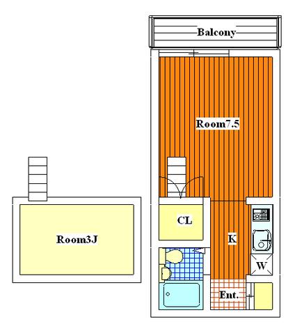 リライ多摩川 / 202 部屋画像1