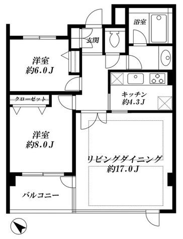 ロワイヤル松濤 / 1階 部屋画像1