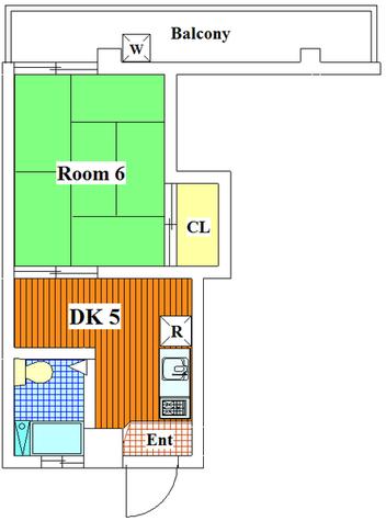 メゾン鏑木 / 302 部屋画像1