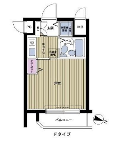 フェニックス幡ヶ谷壱番館 / 1205 部屋画像1
