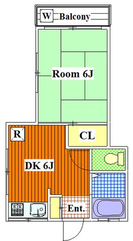 八晃荘 / 201 部屋画像1