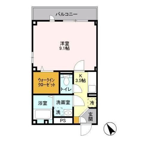 ジュネス西小山 / 301 部屋画像1