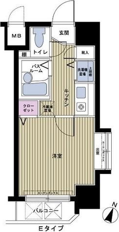 フェニックス幡ヶ谷壱番館 / 6階 部屋画像1