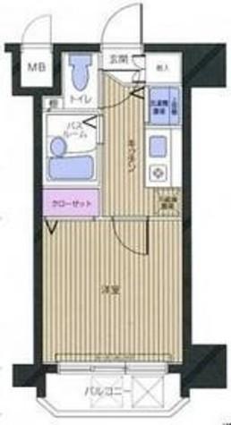 フェニックス幡ヶ谷壱番館 / 5階 部屋画像1