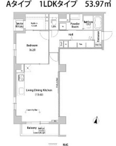ハウスアヴェニュー柿の木坂 / 2階 部屋画像1