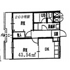 コリーヌ緑ヶ丘A棟 / 2階 部屋画像1