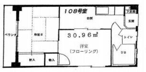 ハウス大岡山  (大岡山1) / 108 部屋画像1
