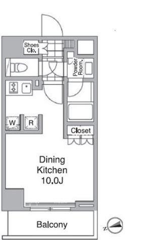 レジディア目黒Ⅳ / 3階 部屋画像1