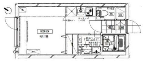LEGALAND MEGURO(リーガランド目黒) / 202 部屋画像1