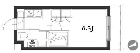アジールコート品川中延 / 1階 部屋画像1