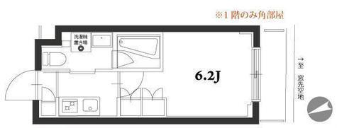 アジールコート品川中延 / 2階 部屋画像1