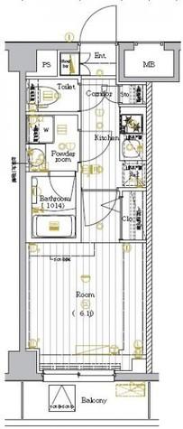 プレミアムキューブ大崎DEUX / 3階 部屋画像1