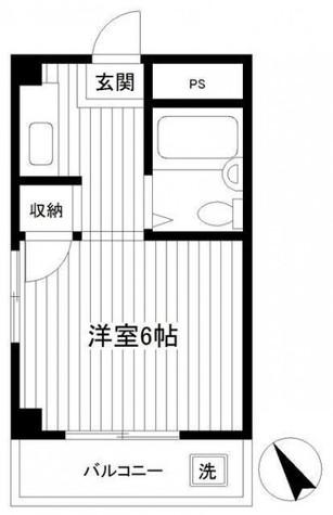 サイレンスコーポ / 2階 部屋画像1