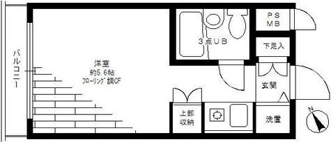 パルム日吉 / 1階 部屋画像1