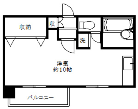 第一天野ハイツ / 3階 部屋画像1