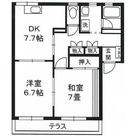ラフィネ綱島 / 2DK 部屋画像1
