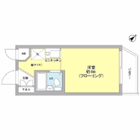 エミグラント妙蓮寺 / 108 部屋画像1