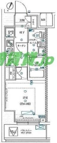 スクエアシティ川崎 / 8階 部屋画像1