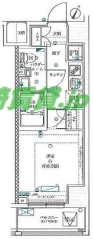 スクエアシティ川崎 / 6階 部屋画像1
