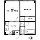 イレブンハイム / 402 部屋画像1