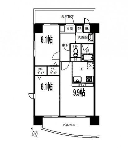 千羽鶴 / 3階 部屋画像1