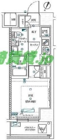 スクエアシティ川崎 / 10階 部屋画像1