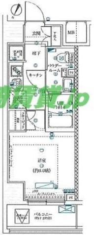 スクエアシティ川崎 / 3階 部屋画像1